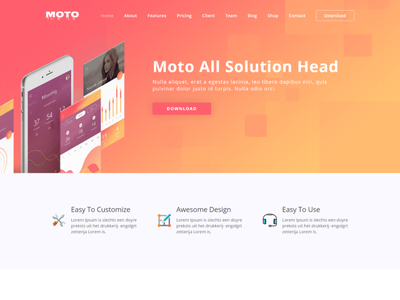 Moto   App Landing Page WordPress Theme technology wordpress. startup technology startup landing page software landing page mobile app marketing lead landing page landing page wordpress landing page shop landing page form freelancer creative app landing page app store android app