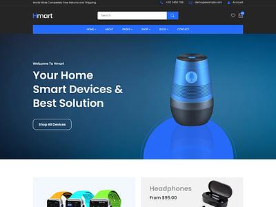 Hmart - Electronics eCommerce HTML Template smart products modern bootstrap5 electronics digital products e-commerce business electronic online stores e-commerce web