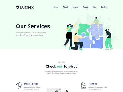 Buznex – Business React JS Template react js-based web template responsive modern react js template business website react js template business react js template