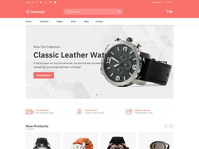 Timekeeper - Watch Store Shopify Theme responsive fashion shopping store ecommerce store watch shop shopify multipurpose shopify theme watch store shopify theme