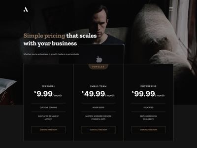 Andle - Personal Portfolio React JS Template modern portfolio react template minimal portfolio react template portfolio website react template personal portfolio template portfolio react template