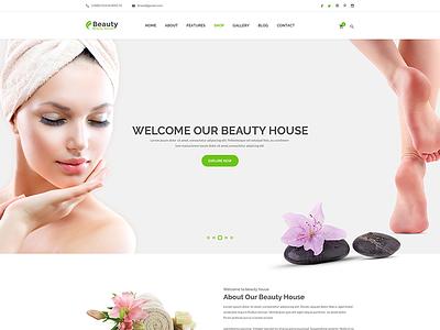 Beautyhouse - Health & Beauty PSD Template  superslides spa retina reponsive photo gallery multicolumn jquery html5 health fullscreen slider beauty