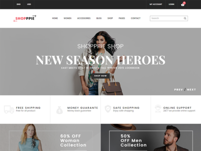 Shopppie - WooCommerce WordPress Theme