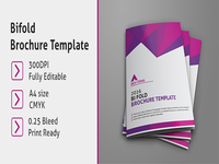 Bifold Business Brochure Template