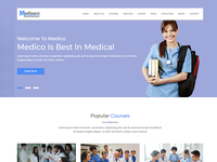 Medical Education HTML Template