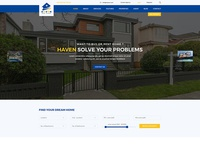 Haven – Real Estate PSD Template  $5.00