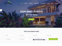 Dominno – Real Estate Responsive Template