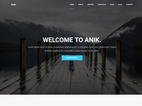 Anik - Personal Portfolio WordPress Theme
