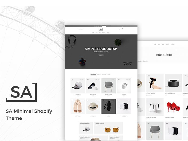 Sa – Minimalist eCommerce Shopify Theme minimal ecommerce theme minimal shopify theme ecommerce  shopify theme