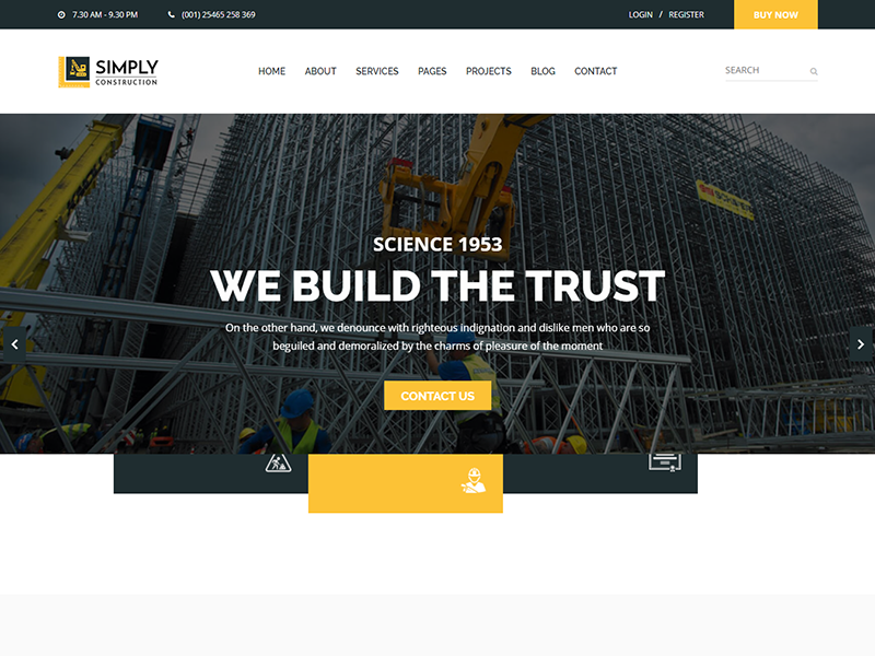 Simply - Construction HTML5 Template refinery plant oil and lubricant manufacturing industry industrial factory engineering energy corporate chemicals business