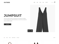 Outside - Minimalist eCommerce Template