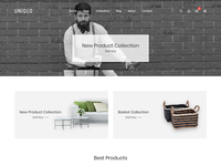 Uniqlo - Minimal eCommerce Shopify Theme