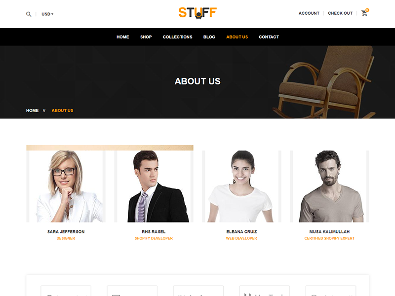 Stuff - Furniture Shopify Theme wood tables shopify theme responsive shopify theme responsive office interior design furniture shopify themes furniture shopify theme furniture clean chairs