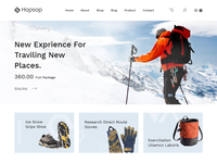 Hopsop – Travel Accessories eCommerce Shopify Theme
