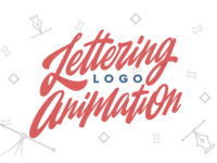 Lettering Logo Animation
