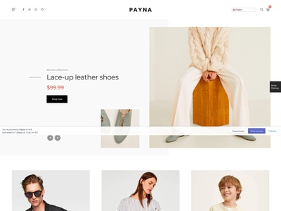Payna – Clean, Minimal Shopify Theme