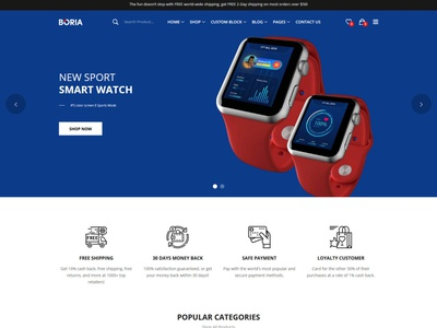 Boria - Multipurpose Responsive eCommerce HTML Template store shop shoes html template shoes multipurpose furniture html template furniture fashion electronics html template electronics cosmetic accessories clean html5 modern ecommerce responsive bootstrap