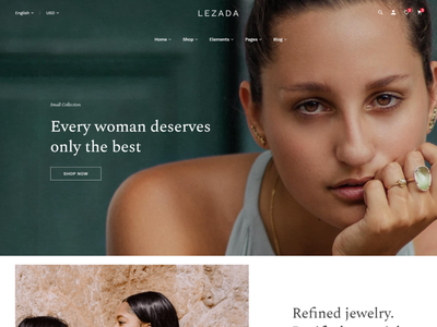 Lezada   Multipurpose eCommerce HTML Template shopping responsive perfumes games furniture cosmetics breard oil books bike backpack baby shop art craft accessories