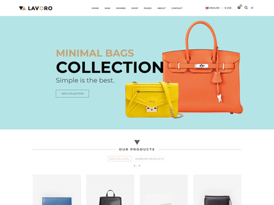 Lavoro   Fashion Store HTML Template women fashion online store online shop men fashion lifestyle handbag fashion store fashion modern fashion html fashion boutique elegant fashion clothes shopping boutique shop