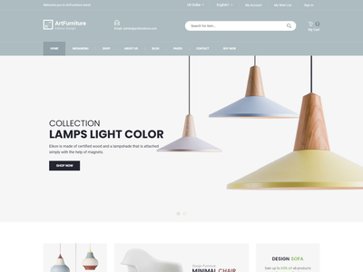 ArtFurniture   Minimal Furniture Shop eCommerce HTML Template store shop responsive minimal store minimal furniture minimal luxury furniture kitchen furniture interior html5 home decor furniture shop furniture ecommerce
