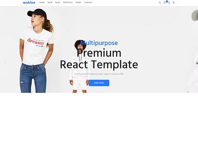 Wokiee - Multipurpose React eCommerce Template nextjs ecommerce template react online store template ecommerce react js template