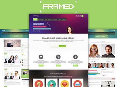 Framed - Responsive Multi-purpose HTML5 Template restaurant multipurpose medical individual portfolio individual html5 hotel gymnastic company clinic business agency
