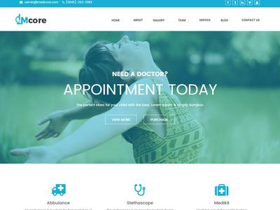 Medicore - Medical WordPress Theme