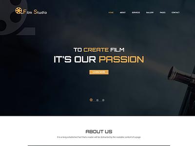 Flim Studio - Movie Film Marketing HTML Template tv-shows serials regisseur film marketing film festivals film coming soon film campaign film episodes campaign