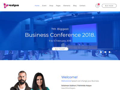 Eventpro - Events and Conference HTML Template