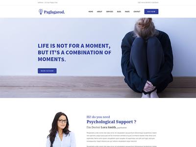 Paglagarod - Psychology & Counseling WordPress Theme