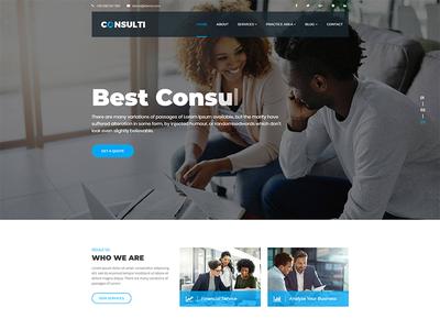 Consulti - Consulting & Business Joomla Template