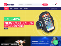 Nikado - Bootstrap eCommerce Template