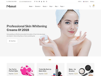 Makali - Cosmetics and Beauty eCommerce Bootstrap4 Template