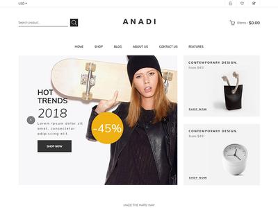 Anadi - Furniture Shopify Theme