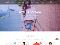 HugeShop - Multi-Purpose eCommerce Bootstrap 4 Template