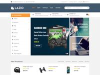 Lazio eCommerce Bootstrap 4 Template