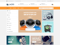 Lazio - Multipurpose eCommerce Bootstrap 4 Template