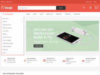 Bege - Electronics Shopify Theme