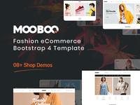 MooBoo - Fashion eCommerce Bootstrap 4 Template