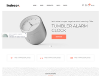 Indecor - Furniture eCommerce Shopify Theme