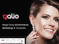Galio - Mega Shop Responsive Bootstrap 4 Template