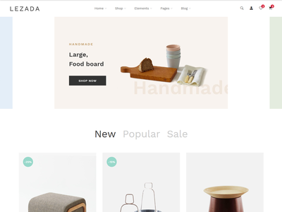 Lezada - Multipurpose eCommerce Bootstrap 4 Template