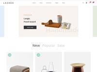 Lezada - Multipurpose eCommerce Bootstrap 4 Template
