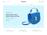 Gemma - Multipurpose eCommerce Bootstrap 4 Template