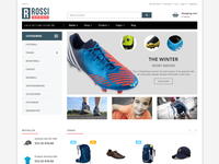 Rossi - Sports Shopify Theme