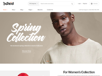 Reid – Fashion eCommerce Bootstrap 4 Template