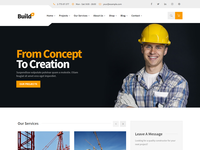 BuildPlus - Construction Bootstrap 4 Template