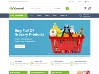 Ostromi - multipurpose eCommerce Bootstrap 4 Template
