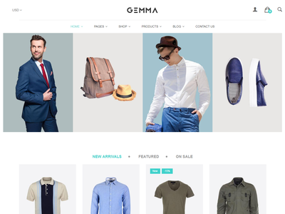 Gemma – Multipurpose Shopify Theme