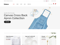 Debaco - eCommerce Bootstrap 4 Template